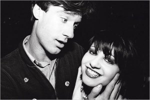 Lance Loud and Lydia Lunch.
