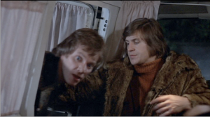Malcolm McDowell (left) and Alan Price in O Lucky Man!